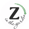Zibeyda in the garden