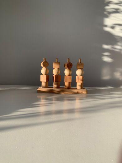 сортер деревянный