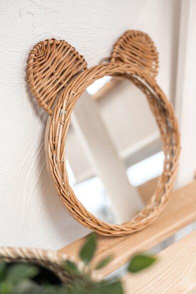 зеркало с деревянным задником